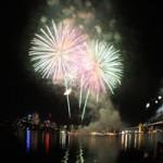 NYE Fireworks on Sydney Harbour