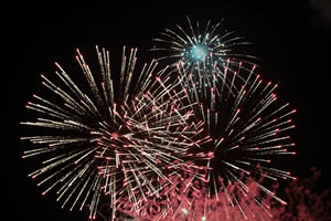 NYE Gold Coast Fireworks display