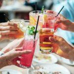 NYE friends drinks cheers