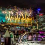 Melbourne Woolshed NYE fireworks docklands